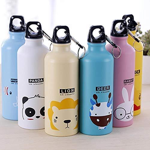 Bottiglia Thermos Alluminio 500mL varie fantasie
