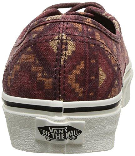 Vans U Authentic, Unisex-Erwachsene High-Top Sneaker (Tribe Rug) Red Clay