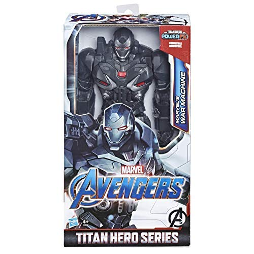 Hasbro Avengers E4017EU4 AVN TH DLX Movie WAR Machine, Multicolour - Power Machines