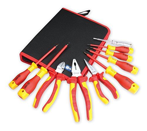 BOOHER 0200101Juego de 1000V VDE de electricista herramienta Set