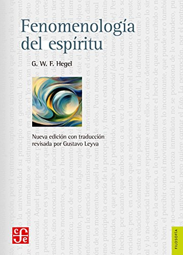 FENOMENOLOGIA DEL ESPIRITU (2ª ED )