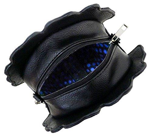 Kukubird Grace Patatine Fritte Novità Crossbody Bag Con Sacchetto Raccoglipolvere Kukubird Black