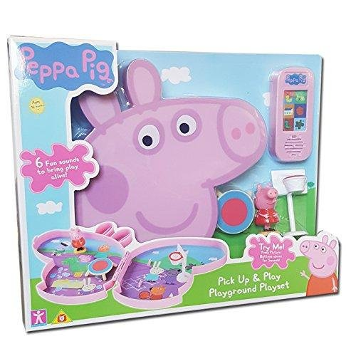 Peppa Pig Pick & Play Playset jeu avec son