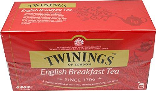 Twinings of London English Breakfast 3 x 25 Teebeutel