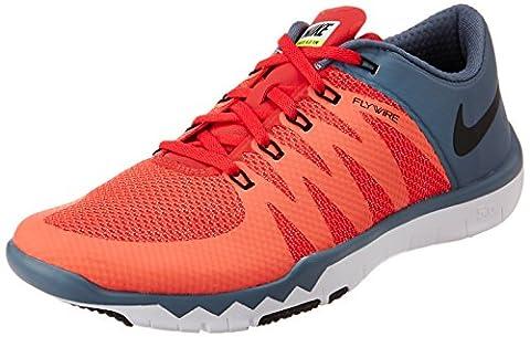 Nike Free Trainer 5.0 V6 Laufschuhe daring red-black-blue graphite - 41 (Nike Free Trainer Rot)