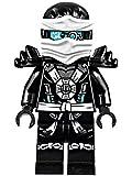 LEGO® Ninjago: Deepstone Zane Minifigure w/ Aeroblade and Armor