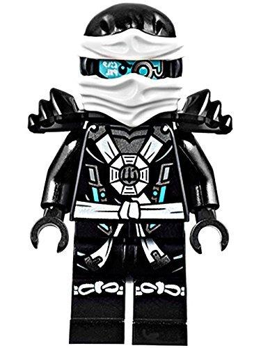 LEGO Ninjago: Deepstone Zane Minifigure w/ Aeroblade and Armor