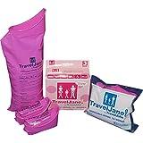 FDU Urinario femenino Urinario de silicona Orinal Viaje de emergencia Embudo permanente Reciclable Orinal simple