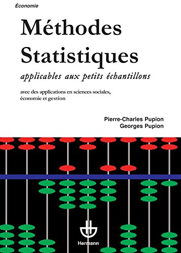 Méthodes de statistiques applicables aux petits échantillons