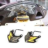 CHUDAN Z800 Motorrad LED Rücklicht Bremslicht Motoren Signalleuchte Integriert Für Kawasaki Z800 ZX6R 636 Z125 PRO 2013-2018