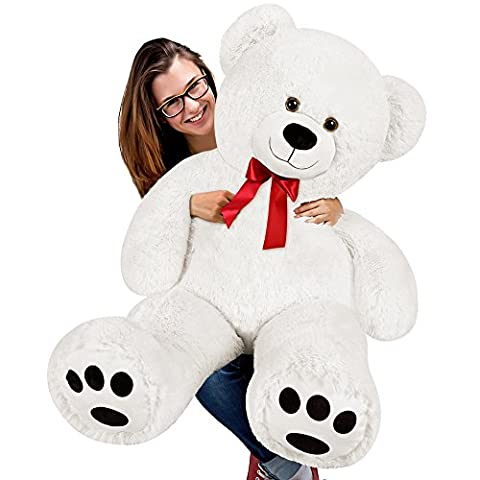 XL Teddy Bear Kids Giant Soft Plush Toys Dolls White