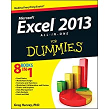 [(Excel 2013 All-in-one For Dummies)] [By (author) Greg Harvey] published on (March, 2013)