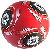 4UNIQ DFB Fußball rot, Größe 5 aufgepumpt