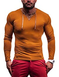 RONIDA - T-shirt - Manches longues - RONIDA 4663 - Homme - XXL Camel [1A1]