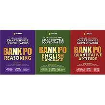 COMBO BANK PO ALL EXAMS (REASONING/ENGLISH/QUANTITATIVE APTIUDE) SET OF 3 BOOKS 2018-19 EXAMS