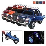 Actionbikes Motors Kinderauto Elektroauto Ford Ranger - Lizenziert - 2 x 45 Watt Motor - Eva Vollgummireifen - 2,4 Ghz Fernbedienung (Blau Lackiert)