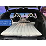 Colchón hinchable para coche con 2 almohadas de aire y bomba de aire para acampada, viajes, dormir, cama inflable para coche modelo Tesla x 6 plazas