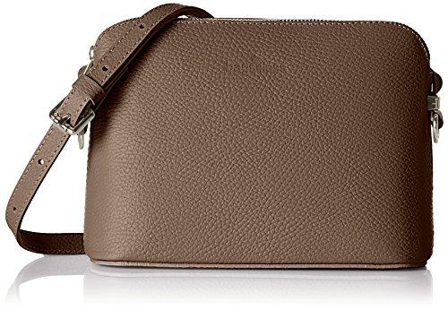 Bags4Less Jimbi - Borse a spalla Donna, Braun (Taupe), 9x18x24 cm (B x H T)