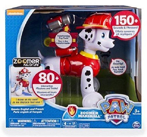 Spin Master Zoomer Marshall - Robots de Entretenimiento (Perro robótico,, Niño/niña, 3 año(s), AA)