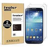iVoler Kompatibel für Panzerglas Schutzfolie Samsung Galaxy S4 [9H Härte] [Anti- Kratzer] [Bläschenfrei] [2.5D Runde Kante], [2 Stücke]