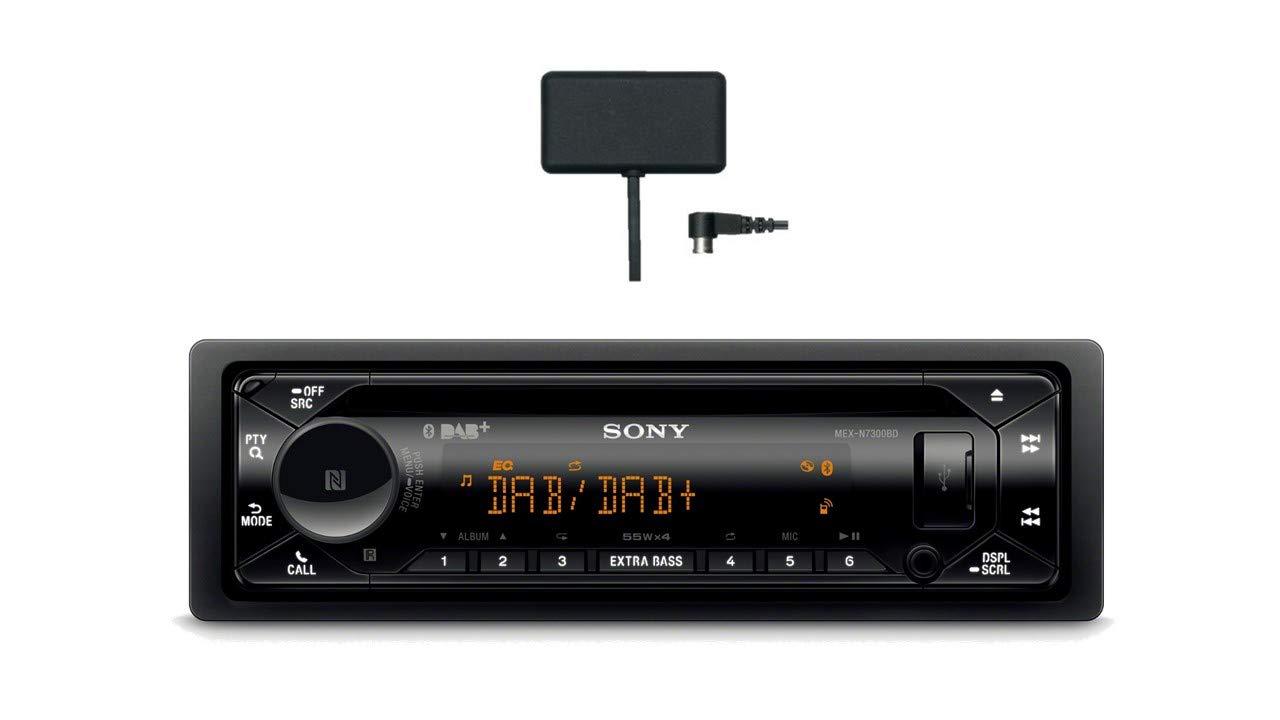 Sony-MEX-N7300KIT-DAB-Autoradio-mit-CD-Dual-Bluetooth-USB-und-AUX-Anschluss-Bluetooth-Freisprechen-4-X55-Watt-3X-Preout-Extra-Bass-Vario-Color