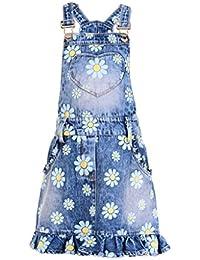 Naughty Ninos Girls' Tunic Knee-Long Dress