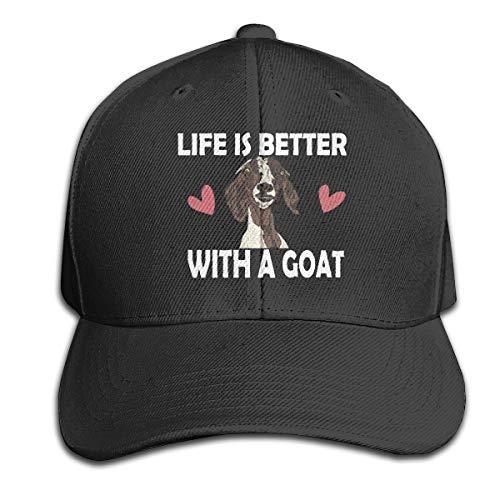 Cardinals Womens Hüte (Osmykqe Life is Better with A Goat Unisex Sommer Sonnenhut einstellbar lässig Golf Tennis Caps)