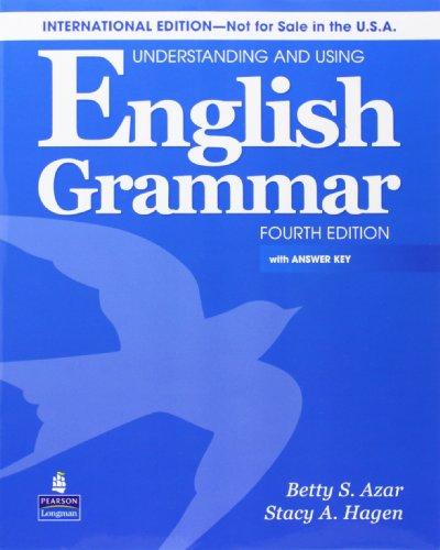 Understanding & Using Engl Grammar Internat'l SB w/AK & AudioCD por Betty Schrampfer Azar