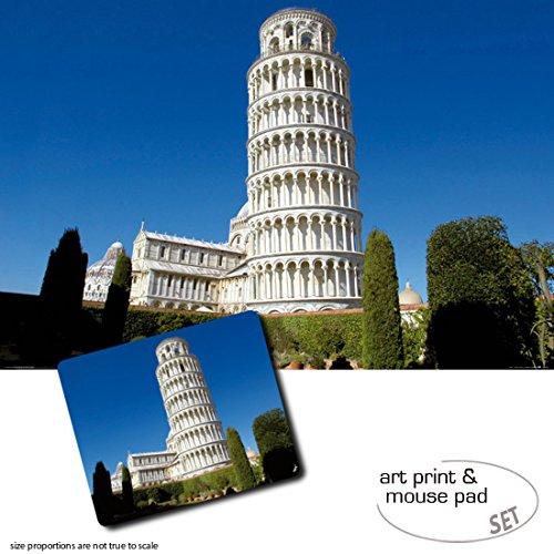 set-regalo-1-poster-impresion-artistica-120x80-cm-1-alfombrilla-para-raton-23x19-cm-pisa-la-torre-in