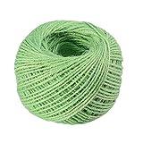 ULTNICE Rolls Jute Schnur Schnur Seil String Hanf Schnur Seil für DIY Geschenkverpackung
