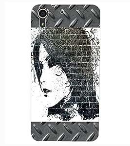 ColourCraft Creative Eye Design Back Case Cover for HTC DESIRE 626G+
