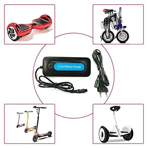 Edizione 42 V 2 A chiavetta elettrico Smart Balance ruota anche bilanciare Roller a doppia Scacchiera caricatore EU-spina