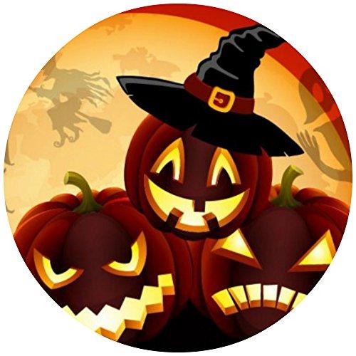 Tortenaufleger Tortenfoto Aufleger Foto Bild Halloween rund ca. 20 cm (5) *NEU*OVP*