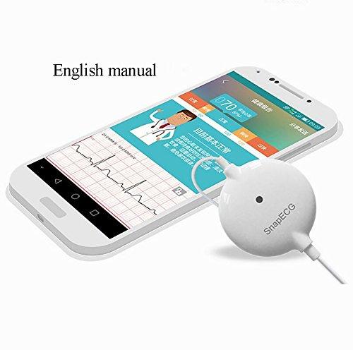 ZY Tragbare EKG/EKG-Monitor-Maschine Elektrokardiograph Herzüberwachung