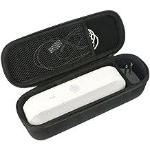 Khanka Duro EVA Viaje Estuche Bolso Funda Case para Beats By Dr. Dre Beats Pill+ / Pill Plus Portátil Wireless Bluetooth Speaker Altavoz - Negro. Fits Lighting Cabel y Cargador