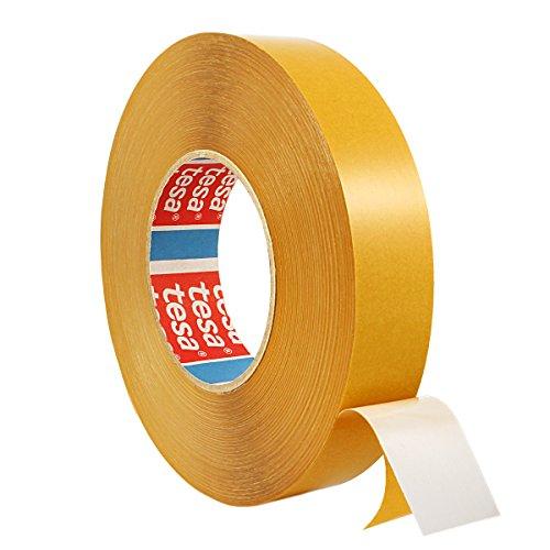 Tesa 4970 | Doppelseitiges Klebeband aus PVC | Montageklebeband | Breite wählbar | 50 m auf Rolle | Stark permanent klebend | Universalklebeband zum Montieren, Befestigen, Fixieren / 19 mm