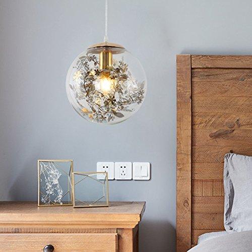 CUICAN Glas klar Pendelleuchte Europäische Modern Minimalistischen Kunst Leuchte Essen Wohnzimmer Kreativ licht-Golden B