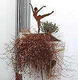 Dekoration Metall rostig Ballerina 2