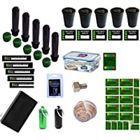 38 Piece Geocaching Container Package Set - Nano Hiding Place Petling Logbook Micro