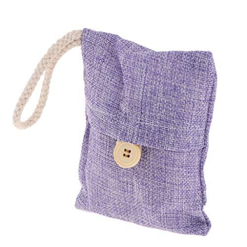 MagiDeal 100g Silikagel Trockenmittel Paket Feuchtigkeit Absorber Luftentfeuchter, Lila Tasche