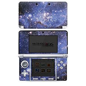 DeinDesign Skin kompatibel mit Nintendo 3 DS Aufkleber Sticker Folie Galaxy Galaxie Pattern