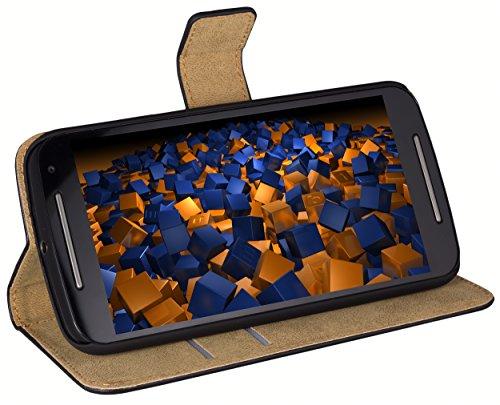 mumbi Tasche im Bookstyle für Motorola Moto G 2. Generation Tasche