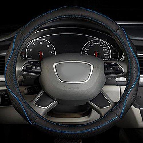 semoss-universale-coprivolante-auto-in-vera-pelle-anti-scivolo-protezione-volante-cover-con-blu-line