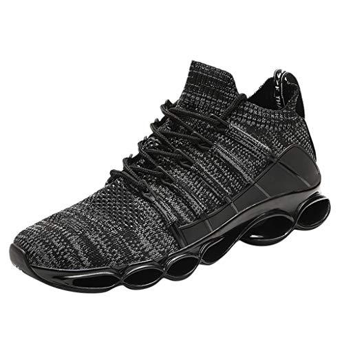 SOMESUN - Scarpe con Cuscino d'Aria Scarpe da Corsa Uomo Cuscino d'Aria Uomo Fitness Scarpe da Ginnastica Running Sneakers Casual all'Aperto Scarpe da Uomo Traspiranti