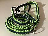 Durable 550Paracord correa del perro con fuerte mosquetón Clip y D anillo–perfecto para...
