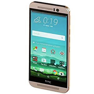 HTC One (M9) - Gold On Silver (5 Zoll (12,7 cm) Touch-Display, 32 GB Speicher, Android 5.0.2)