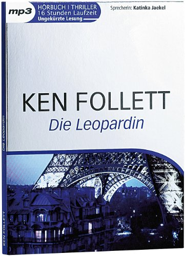 Ken Follett - Die Leopardin - MP3-Hörbuch (2 CDs, 16 Stunden)