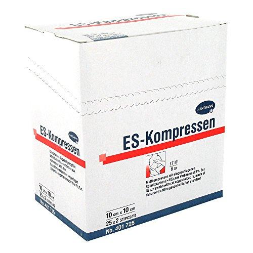 Es-kompressen steril 10x10 cm 8fach 25X2 stk
