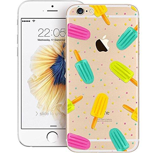 "iPhone 6S TPU Hülle,iPhone 6S Handytasche HandyHülle, BoomTeck Silikon Hülle Transparent Schutzhülle für 4.7"" Apple iPhone 6S/iPhone 6 Slim Weiche Unsichtbare Gel-Skizze Stoßfest Gummi Schützende Crys 02"