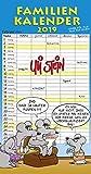 Uli Stein Familienkalender 2019 Bild